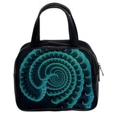Fractals Form Pattern Abstract Classic Handbags (2 Sides)