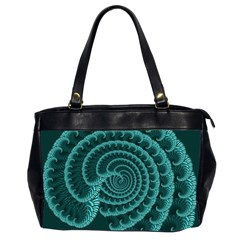 Fractals Form Pattern Abstract Office Handbags (2 Sides)  by BangZart