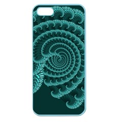 Fractals Form Pattern Abstract Apple Seamless Iphone 5 Case (color)
