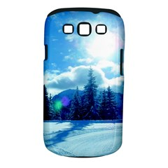 Ski Holidays Landscape Blue Samsung Galaxy S Iii Classic Hardshell Case (pc+silicone) by BangZart