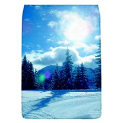 Ski Holidays Landscape Blue Flap Covers (l)