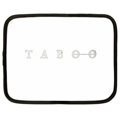 Taboo Netbook Case (xxl)  by Valentinaart