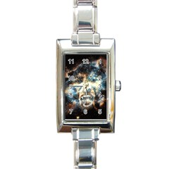 Universe Vampire Star Outer Space Rectangle Italian Charm Watch