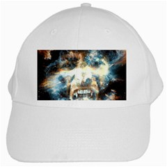Universe Vampire Star Outer Space White Cap by BangZart