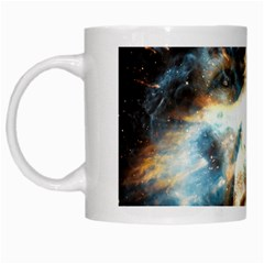Universe Vampire Star Outer Space White Mugs