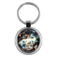 Universe Vampire Star Outer Space Key Chains (round)