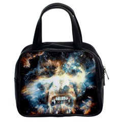 Universe Vampire Star Outer Space Classic Handbags (2 Sides)