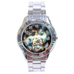 Universe Vampire Star Outer Space Stainless Steel Analogue Watch