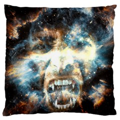 Universe Vampire Star Outer Space Large Cushion Case (two Sides)
