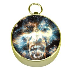 Universe Vampire Star Outer Space Gold Compasses