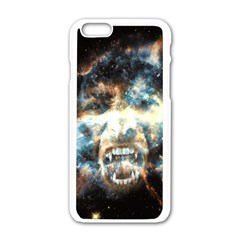 Universe Vampire Star Outer Space Apple Iphone 6/6s White Enamel Case
