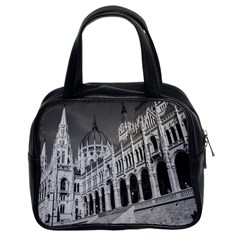 Architecture Parliament Landmark Classic Handbags (2 Sides)