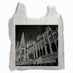 Architecture Parliament Landmark Recycle Bag (two Side)  by BangZart