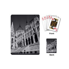 Architecture Parliament Landmark Playing Cards (mini)  by BangZart