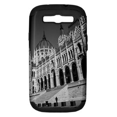 Architecture Parliament Landmark Samsung Galaxy S Iii Hardshell Case (pc+silicone) by BangZart