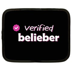 Verified Belieber Netbook Case (xxl)  by Valentinaart