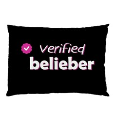 Verified Belieber Pillow Case (two Sides) by Valentinaart