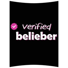 Verified Belieber Back Support Cushion by Valentinaart