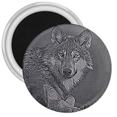 Wolf Forest Animals 3  Magnets by BangZart