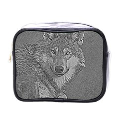 Wolf Forest Animals Mini Toiletries Bags by BangZart