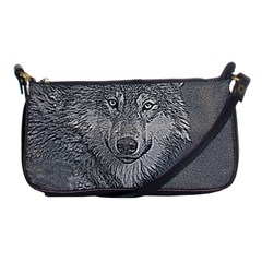 Wolf Forest Animals Shoulder Clutch Bags