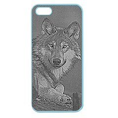 Wolf Forest Animals Apple Seamless Iphone 5 Case (color)