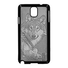 Wolf Forest Animals Samsung Galaxy Note 3 Neo Hardshell Case (black) by BangZart
