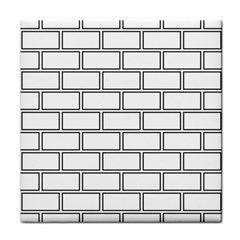 Wall Pattern Rectangle Brick Tile Coasters by BangZart