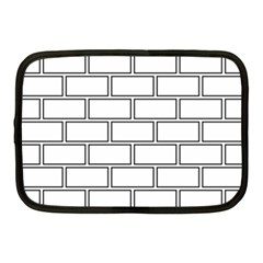 Wall Pattern Rectangle Brick Netbook Case (medium)  by BangZart