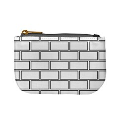 Wall Pattern Rectangle Brick Mini Coin Purses