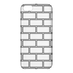Wall Pattern Rectangle Brick Apple Iphone 5c Hardshell Case by BangZart