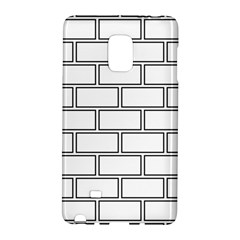 Wall Pattern Rectangle Brick Galaxy Note Edge