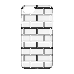 Wall Pattern Rectangle Brick Apple Iphone 8 Hardshell Case