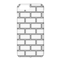 Wall Pattern Rectangle Brick Apple Iphone 8 Plus Hardshell Case by BangZart