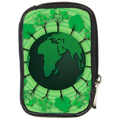 Earth Forest Forestry Lush Green Compact Camera Cases by BangZart