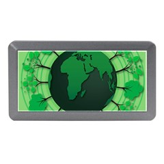 Earth Forest Forestry Lush Green Memory Card Reader (mini) by BangZart