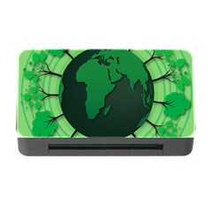 Earth Forest Forestry Lush Green Memory Card Reader With Cf by BangZart