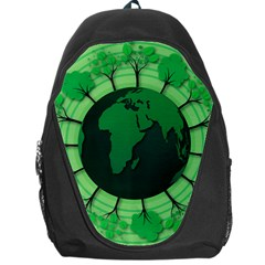 Earth Forest Forestry Lush Green Backpack Bag by BangZart