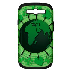 Earth Forest Forestry Lush Green Samsung Galaxy S Iii Hardshell Case (pc+silicone)