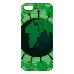 Earth Forest Forestry Lush Green Apple Iphone 5 Premium Hardshell Case
