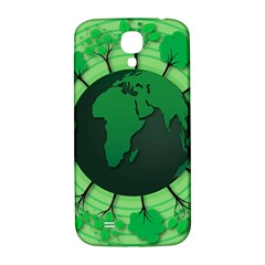Earth Forest Forestry Lush Green Samsung Galaxy S4 I9500/i9505  Hardshell Back Case by BangZart
