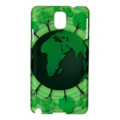 Earth Forest Forestry Lush Green Samsung Galaxy Note 3 N9005 Hardshell Case by BangZart