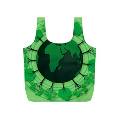 Earth Forest Forestry Lush Green Full Print Recycle Bags (s)  by BangZart