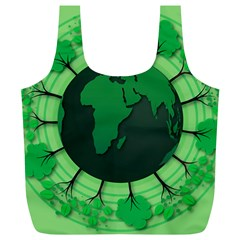 Earth Forest Forestry Lush Green Full Print Recycle Bags (l)  by BangZart