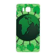 Earth Forest Forestry Lush Green Samsung Galaxy Alpha Hardshell Back Case by BangZart