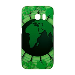 Earth Forest Forestry Lush Green Galaxy S6 Edge by BangZart