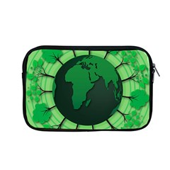 Earth Forest Forestry Lush Green Apple Macbook Pro 13  Zipper Case by BangZart