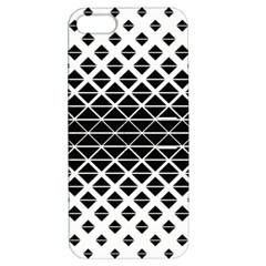 Triangle Pattern Background Apple Iphone 5 Hardshell Case With Stand