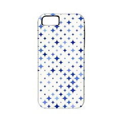 Star Curved Background Blue Apple Iphone 5 Classic Hardshell Case (pc+silicone)