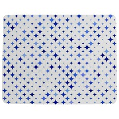 Star Curved Background Blue Jigsaw Puzzle Photo Stand (rectangular)